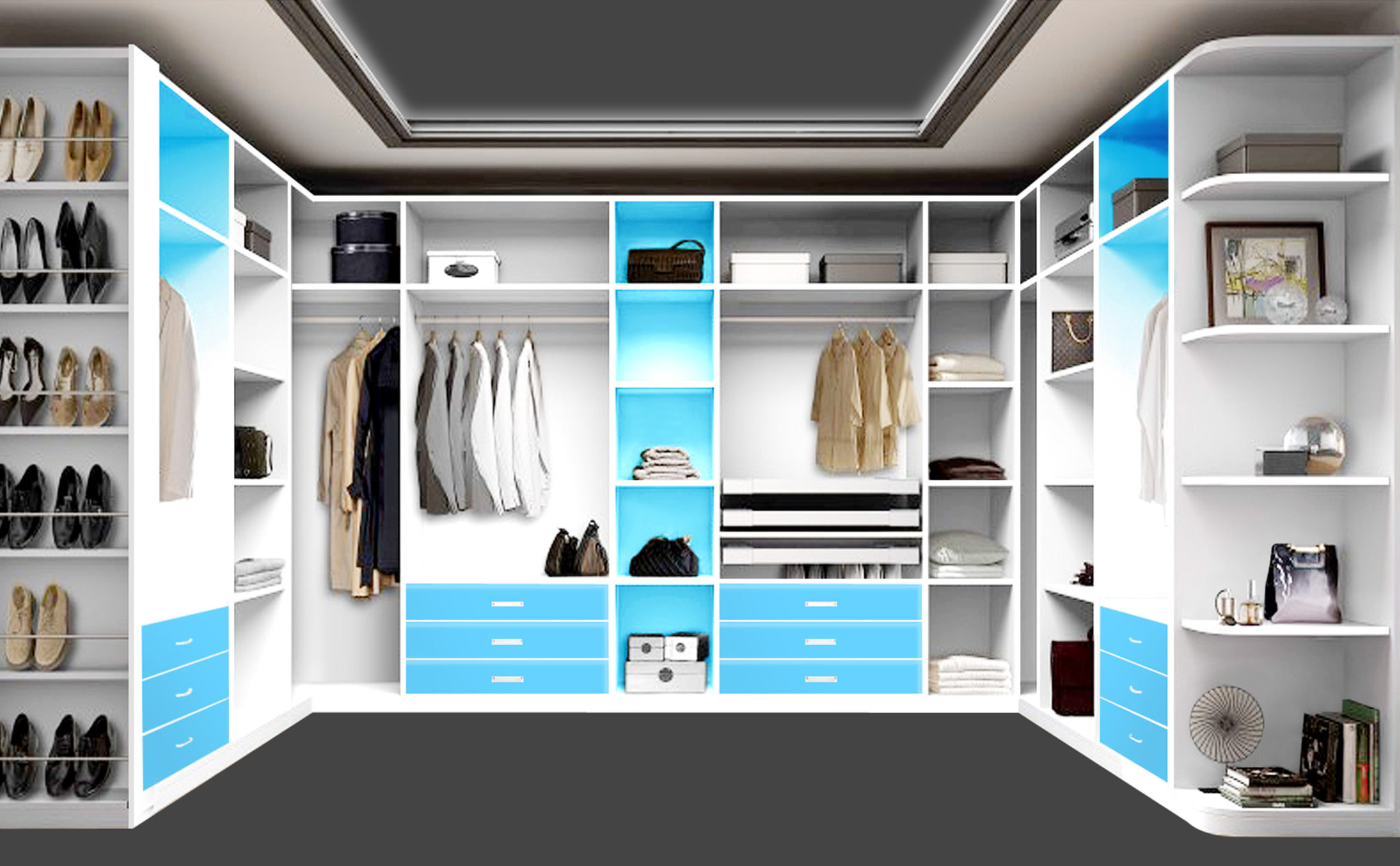 Walk In Closet Furniture To Stylish And Inventive Walk In Wardrobe Designs Units In u0026 Sliding Closet Cabinet Uae Hinged